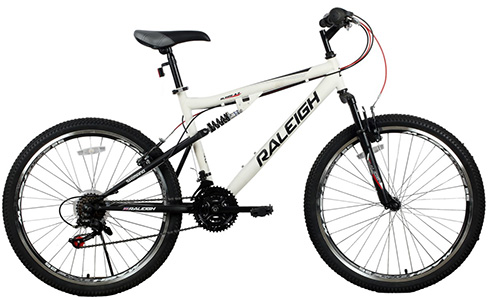 "Alpine 4.2 26"" Dual Suspension Mountain bike"