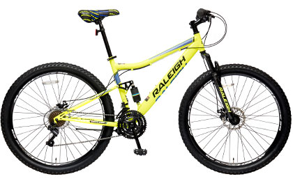"Canyon FRS 27.5"" Steel Mountain Bike"