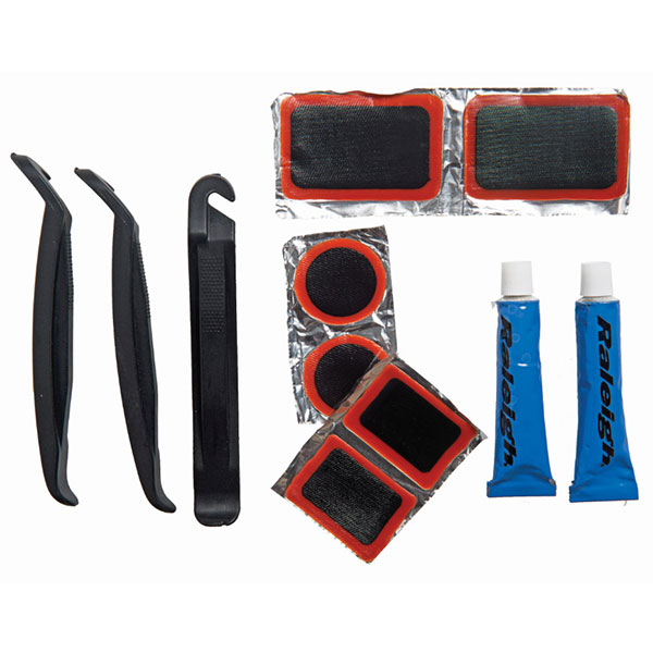 12 Piece puncture repair kit