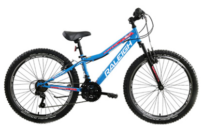 "Mirage 24"" Blue Mountain Bike"