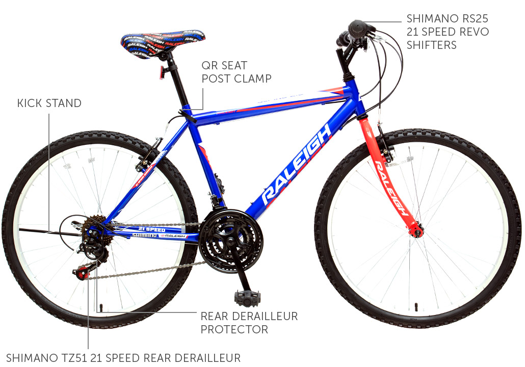 "Alpine 2.2 26"" Men's Mountain Bicycle - Blue"