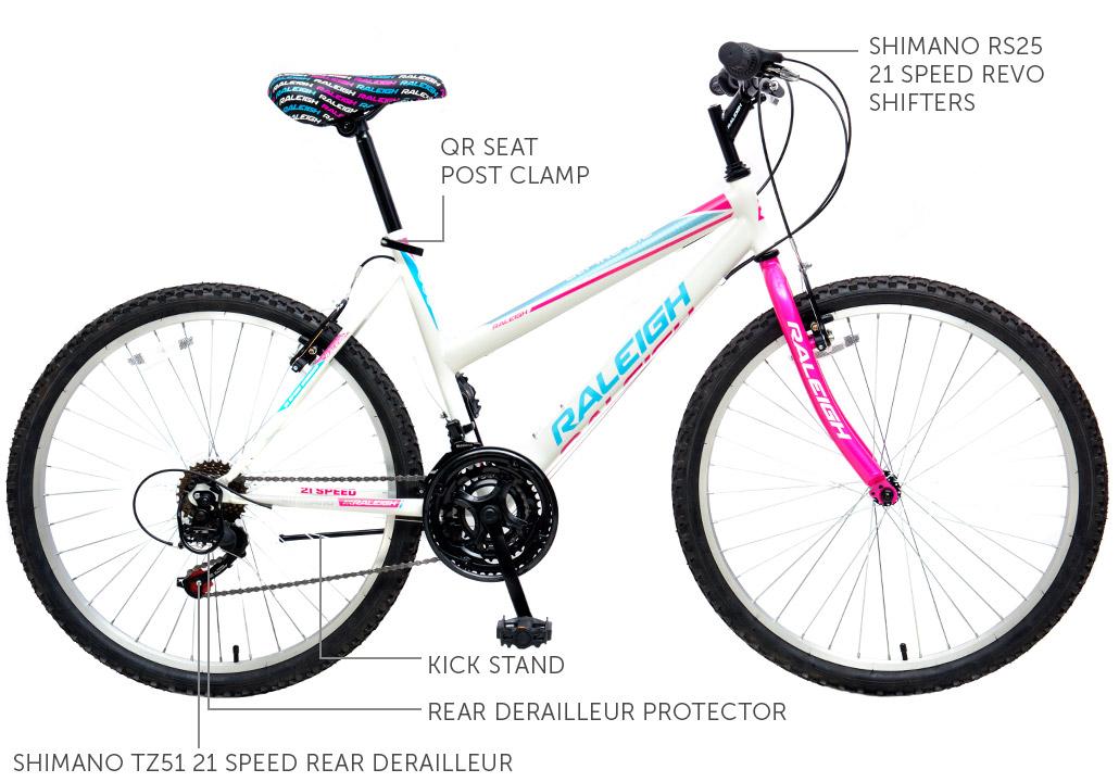"Alpine 2.2 26"" Ladies Mountain Bicycle"