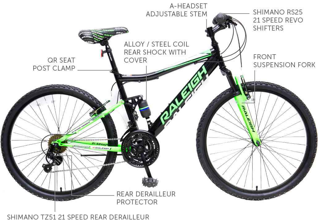 "Ascent DS 26"" Men's Mountain Bicycle"
