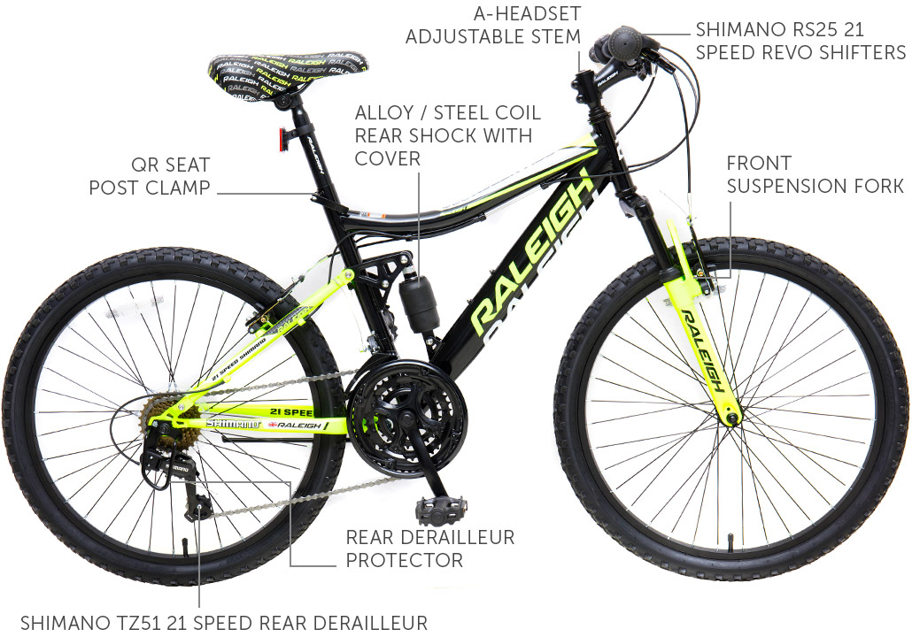 """AscentDS 24"""" Men's Mountain Bicycle"""