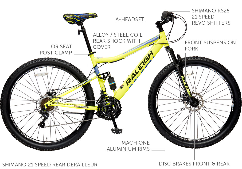 "Canyon FRS 29"" Steel Mountain Bike"