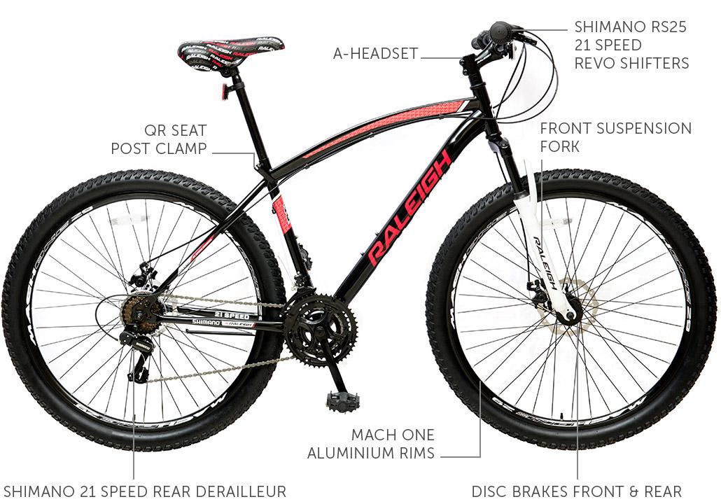 "Canyon 29"" Steel Mountain bike"