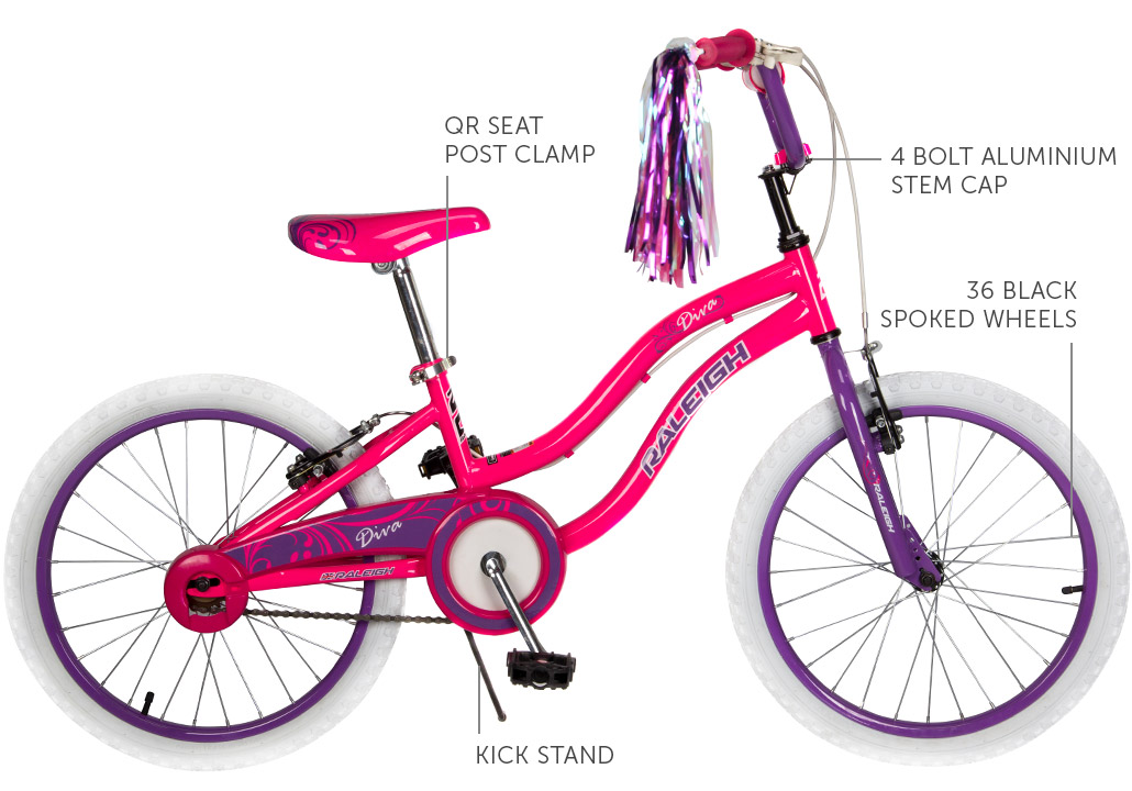 "Diva 20"" Girls BMX bicycle"