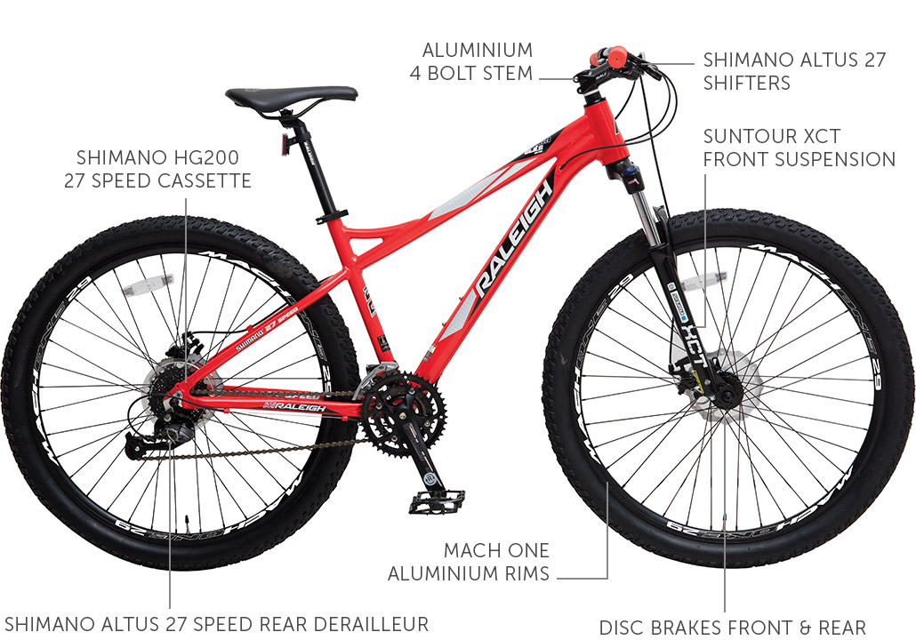 "Elite Series 29"" Aluminium Mountain Bike"