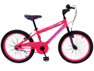 "Enduro 20"" Girls Mountain bike - Pink"