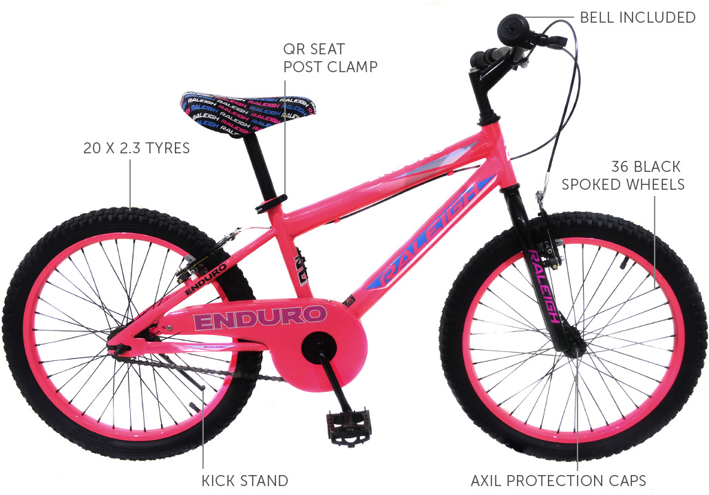"Enduro 20"" Girls Mountain bike"