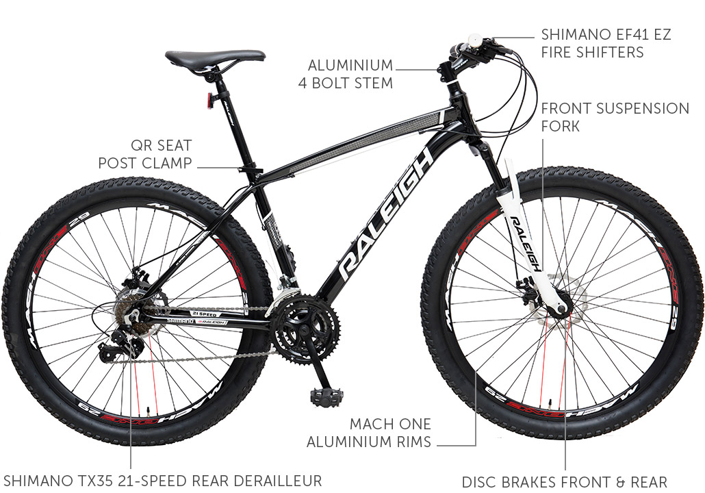 MXR 29er Aluminium Mountain Bike