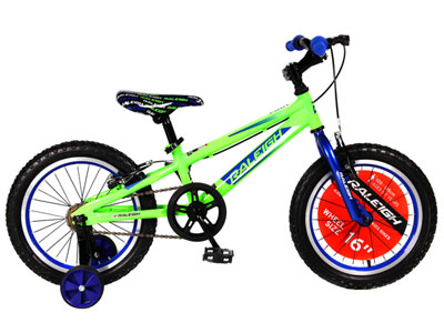 "MXR 16"" Boys Mountain bike - Green"