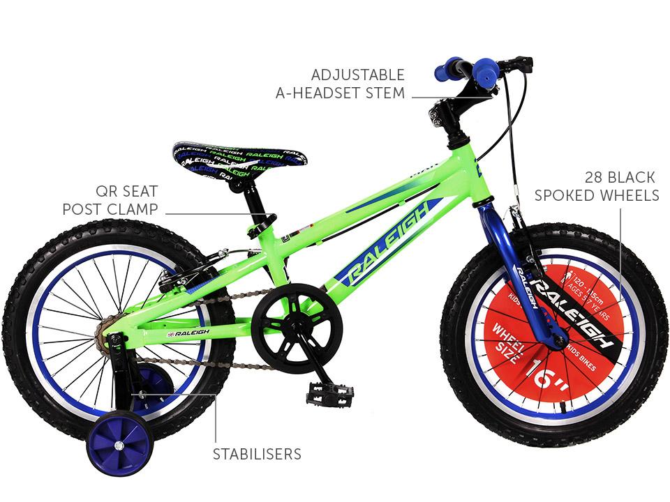 """MXR 16"""" Boys Mountain bike"""