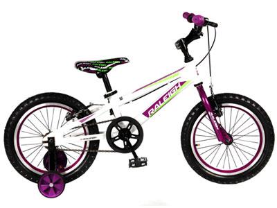 """MXR 16"""" Girls Mountain bike - Purple"""