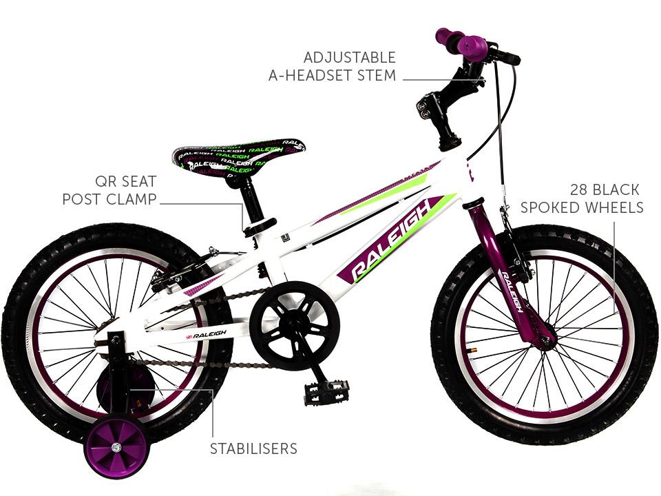 "MXR 16"" Girls Mountain bike"