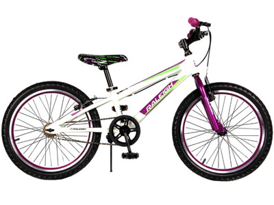 "MXR 20"" Girls Mountain bike - Purple"