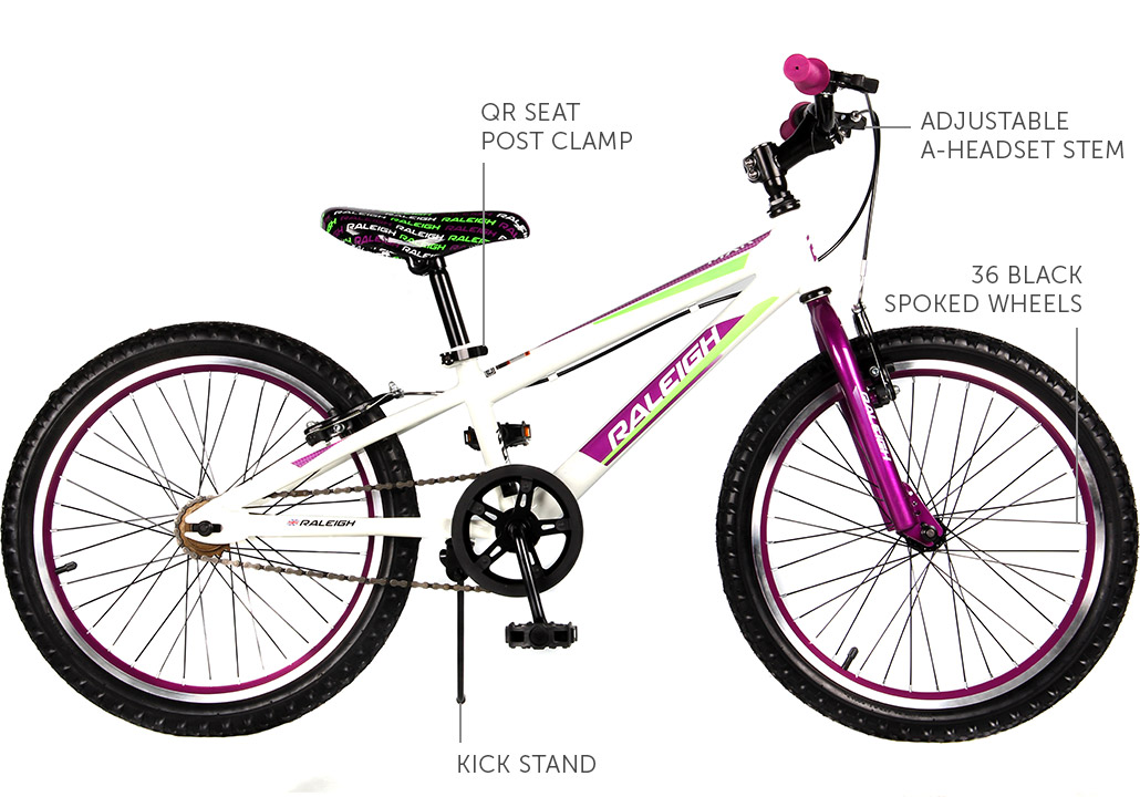 "MXR 20"" Girls Mountain bike"