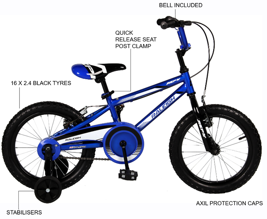 """REP IV 16"""" Boys BMX bicycle"""