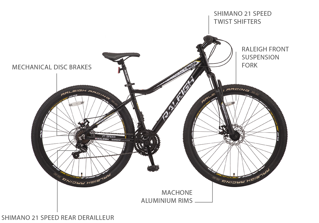 "Razor 29"" Aluminium Mountain Bike"