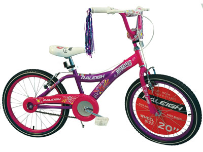 "Starz 20"" Girls BMX bike"