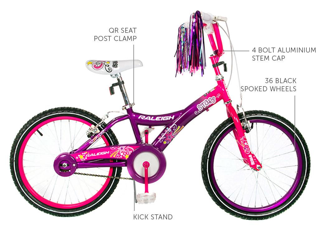 """Starz 20"""" Girls BMX bicycle"""