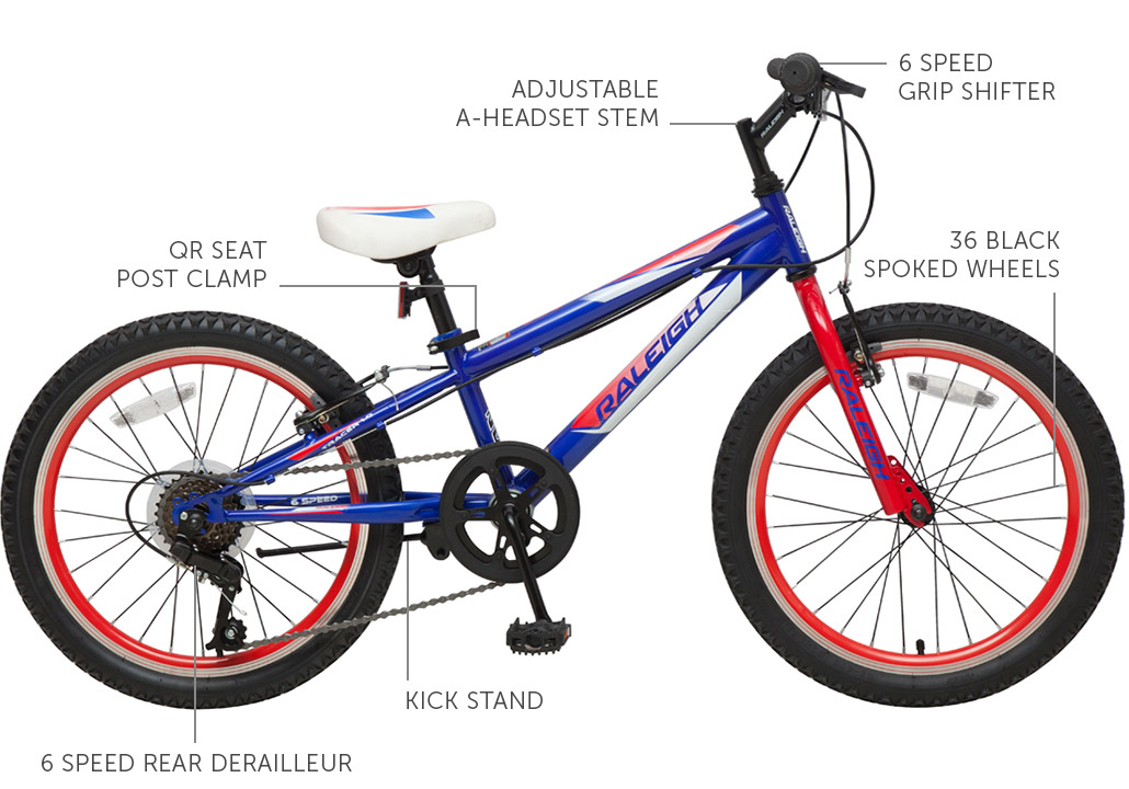 "Tracer 1.0 20"" Boys Mountain bike"