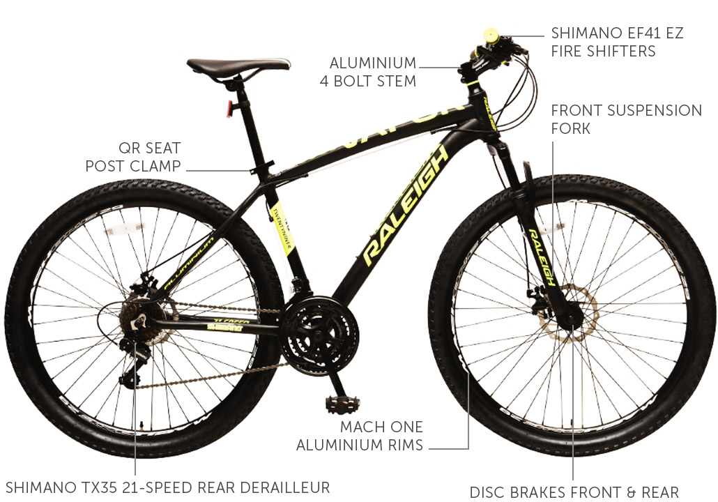 Vapor Alloy frame bike 29""