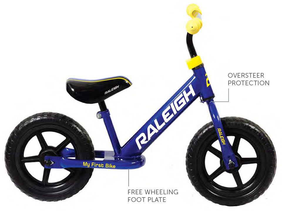 "My first bike - 12"" balance bike, specifications"