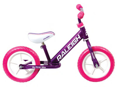"My first bike girls - 12"" balance bike"