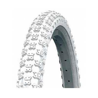 "20"" x 1.75 white mountain bike tyre"