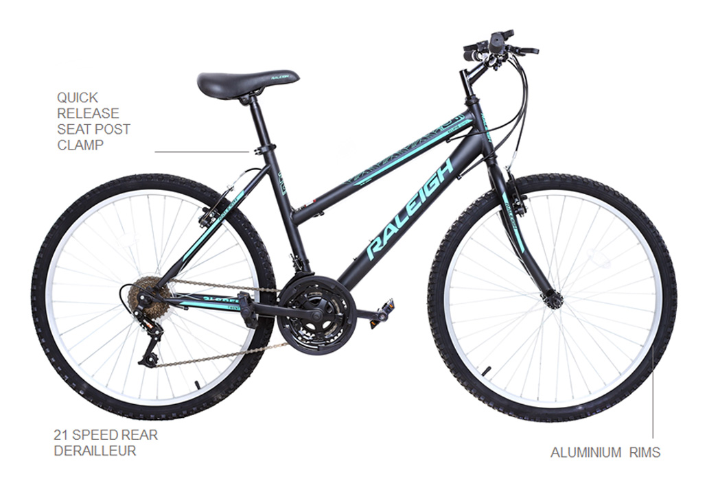 "Eclipse 24"" Ladies Mountain Bike"