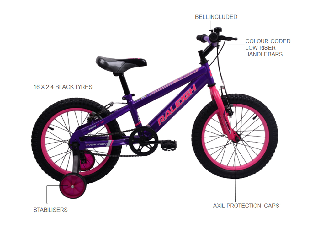 Enduro 16″ Girls BMX