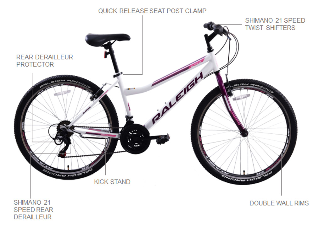 "Alpine 2.2 26"" Ladies Mountain Bicycle"