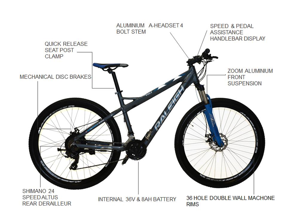 """Volt 29"""" E-Bike"""