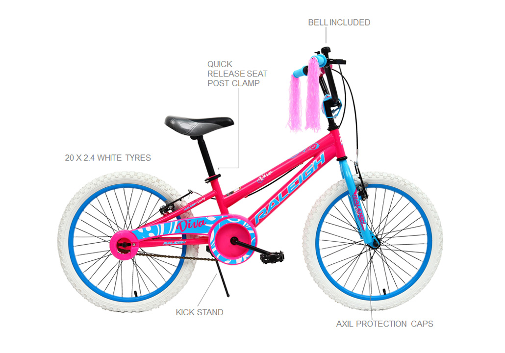 LIL' Honey 12″ Girls BMX