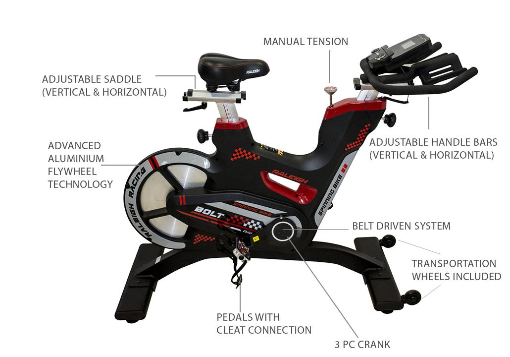 Bolt Spinning Bike