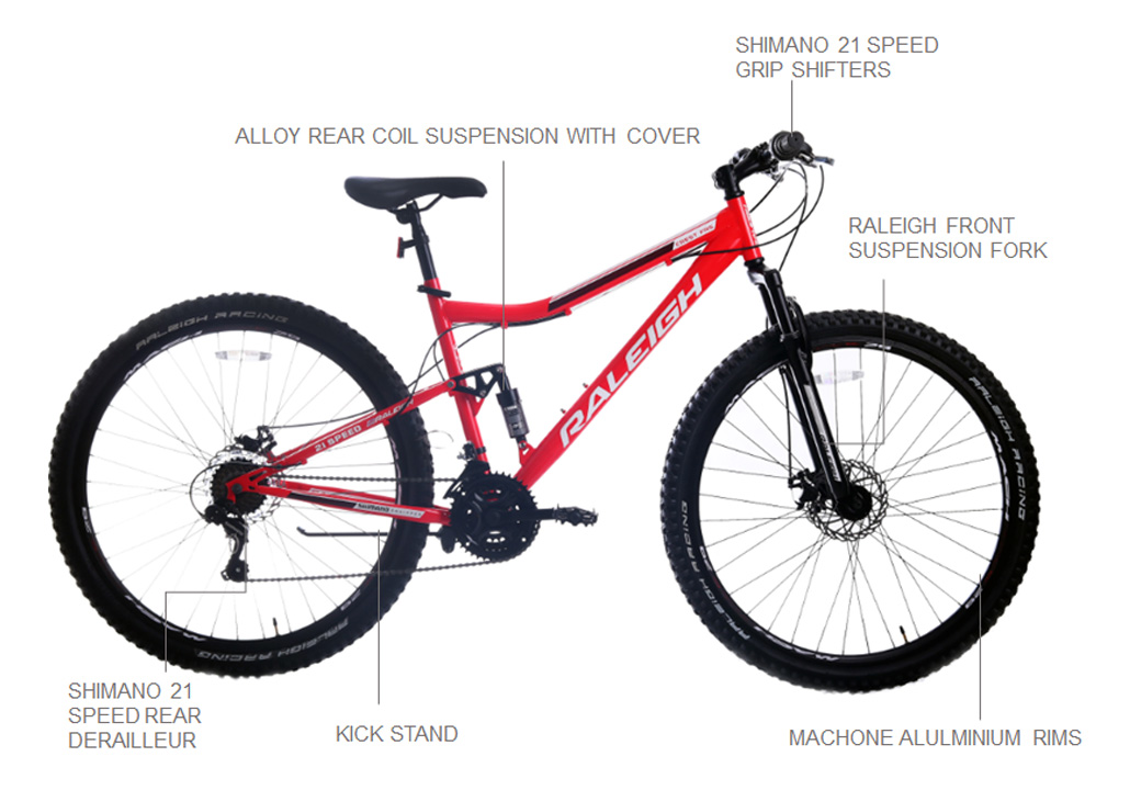 "Crest FRS  29"" Mountain Bike"