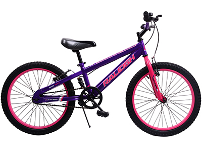 "Enduro 20"" Girls Mountain bike - Purple"