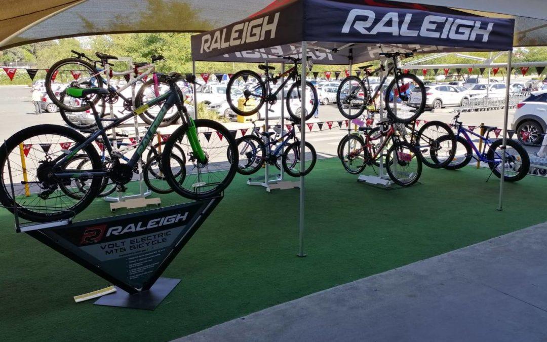 Raleigh Activations at Makro Alberton