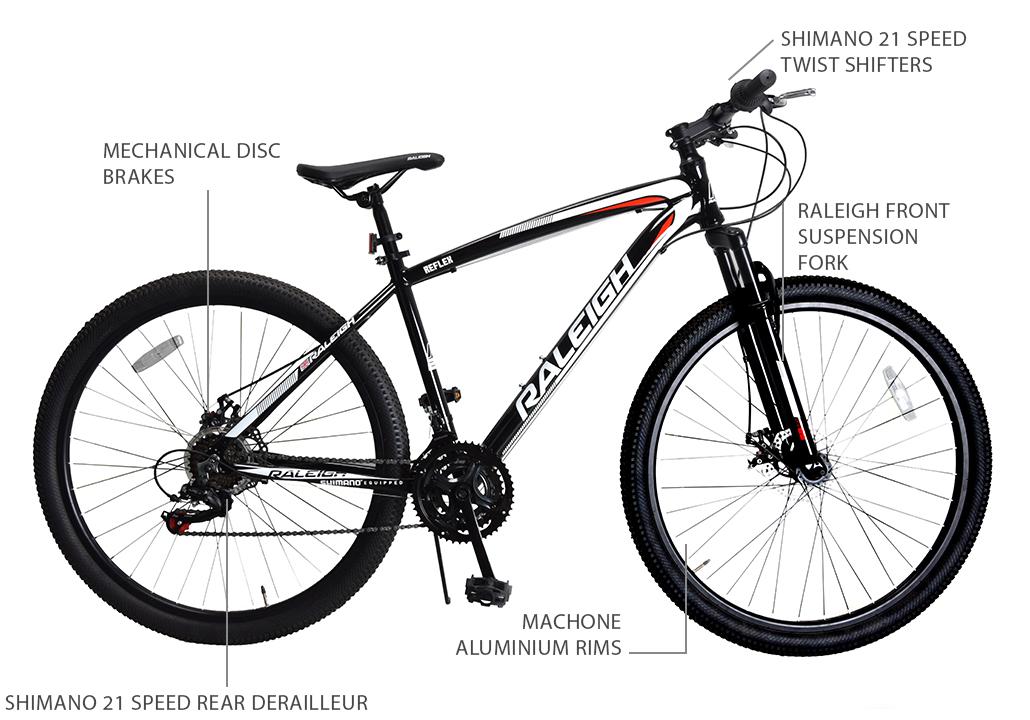 """Reflex 29"""" Aluminium Mountain Bike"""