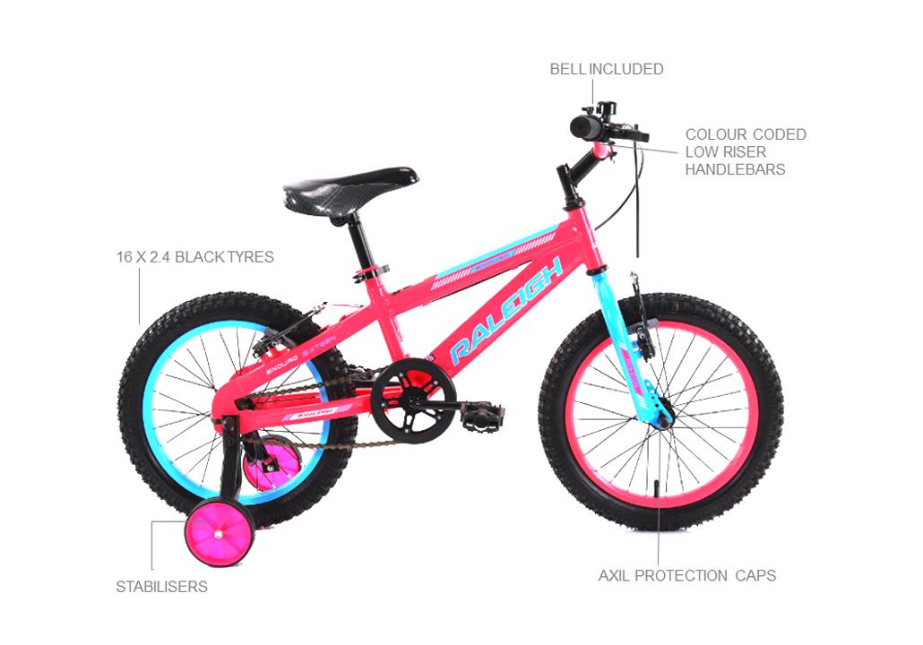 "Enduro 16"" Girls Mountain bike"