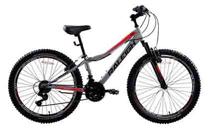 "Mirage 24"" Light Grey Mountain Bike"