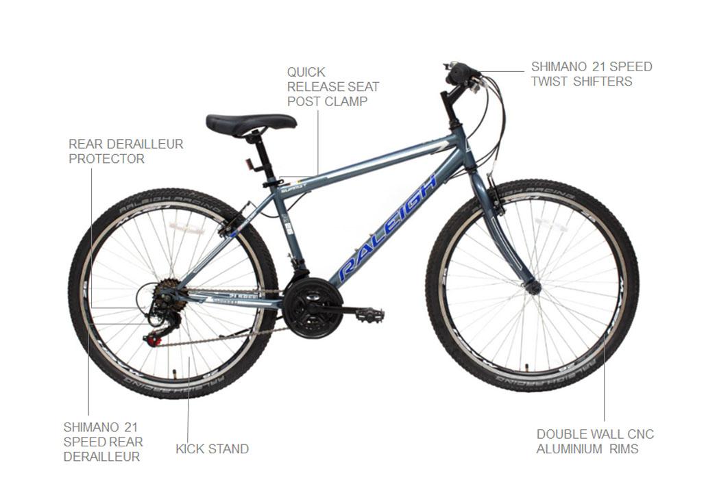 "Summit 24"" Mountain Bicycle"