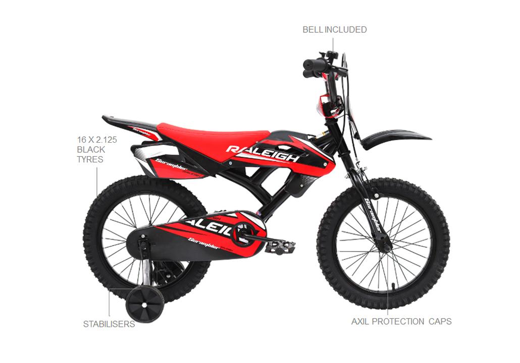 Scrambler Moto Bicycle